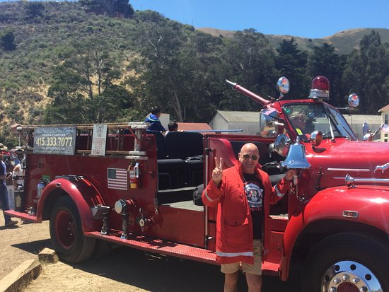 San Francisco Fire Engine Tours & Adventures: The fire truck