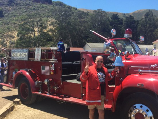 San Francisco Fire Engine Tours & Adventures: With the truck , ring the bell