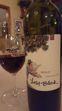 Il Cacciatore Restaurant: Great Wine sellection