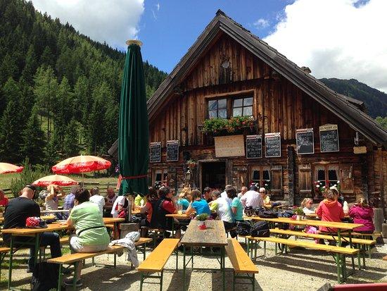 Mariapfarr, Austria: Die Granglerhütte