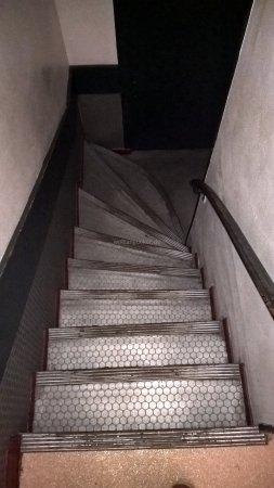Hotel Le Parisien : Treppenhaus