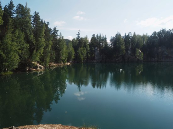 Hradec Kralove Region, Republika Czeska: Jezírko