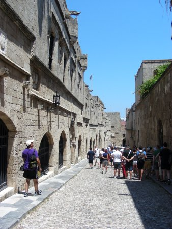 Street of the Knights - Picture of Street of the Knights ...