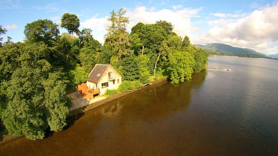 Arden, UK: Waterfront Property Heron Lodge sleeps 2 Loch Lomond