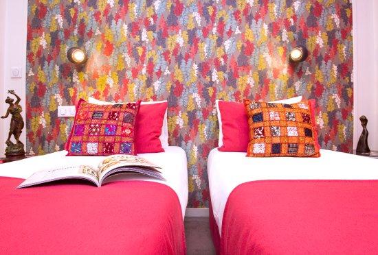 Hotel Villa Boheme: Chambre Twin Confort