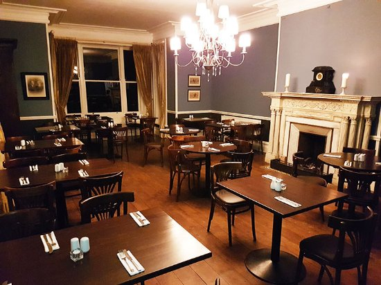 The Valley House Bar Restaurant Dining Room At Achill