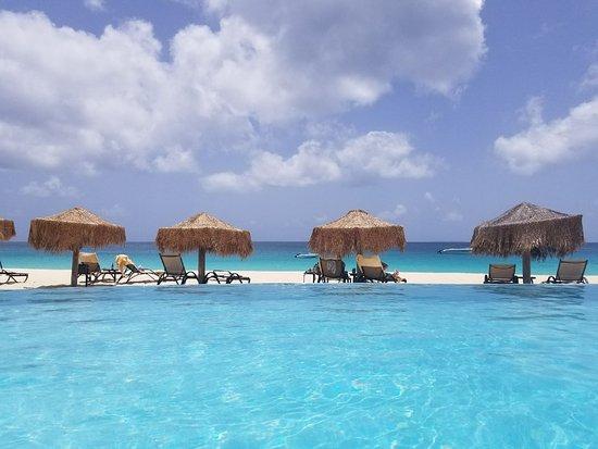 West End Village, Anguilla: Frangipani Beach Resort