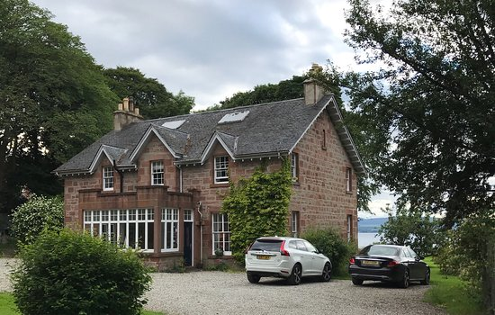 Cromarty, UK: View of the house