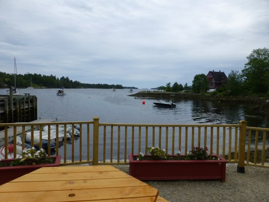 Chester Basin, Canada: View and decking area