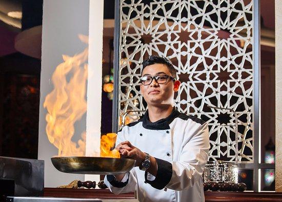 Municipalité de Podgorica, Monténégro : Asian cuisine chef