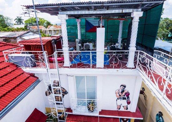 Casa del tesoro santiago de cuba kuba omd men for Terrace 45 scout santiago