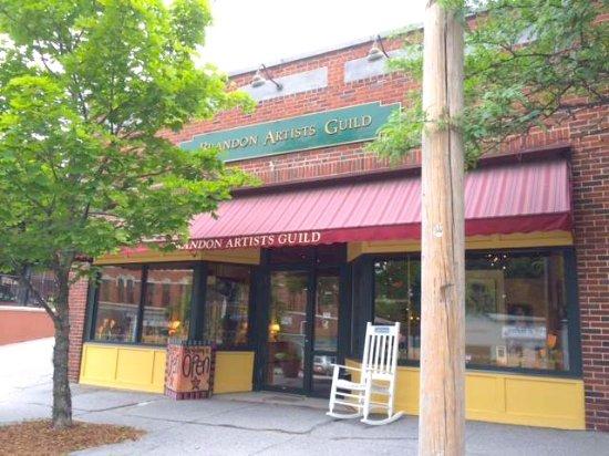 The Brandon Artitsts Guild, right in downtown Brandon VT