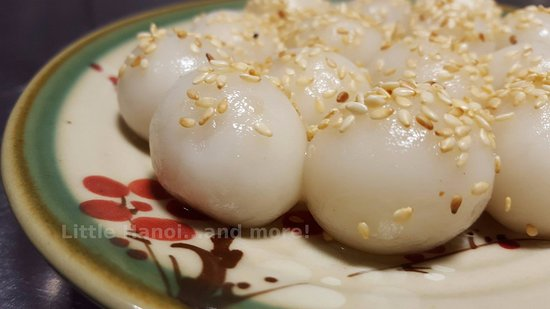 Little Hanoi...and more!: Bánh Trôi (Floating cake)