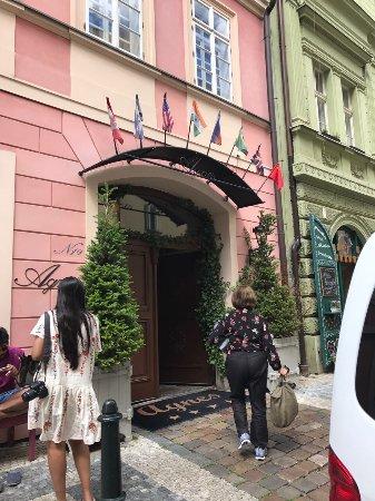 Hotel Residence Agnes: Entrada