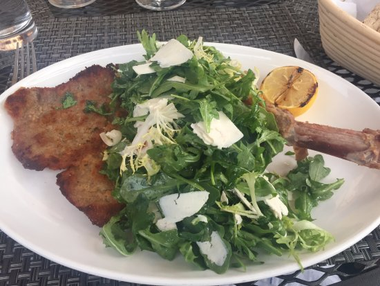 Veal Chop Milanese - South End Restaurant, New Canaan CT