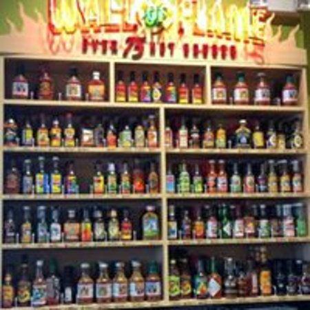 Montvale, NJ: 75 Sauces to Choose from..WOW!!!!!