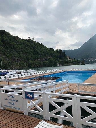 wunderbarer floating-Pool! - Picture of Villa d\'Este, Cernobbio ...