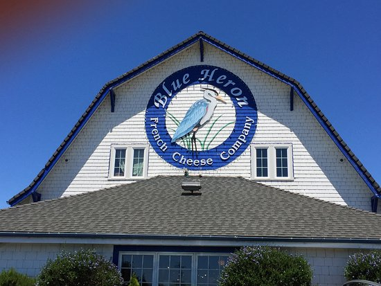 Blue Heron French Cheese Company : outside