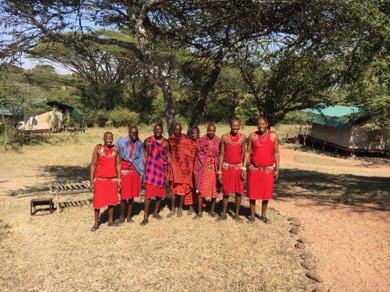 Porini Mara Camp: The fabulous staff
