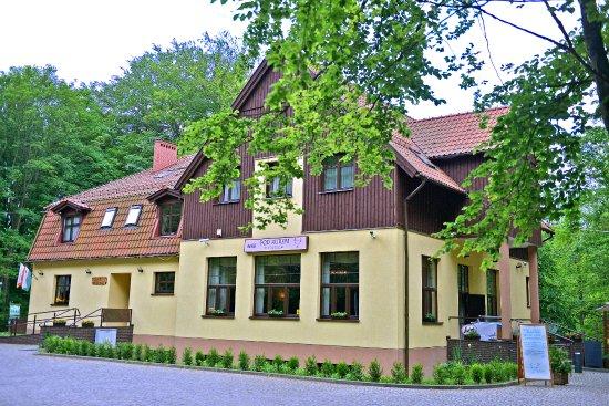 Koscierzyna, Pologne : obiekt latem