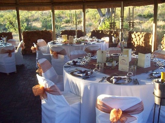 Golden Leopard Resort - Manyane: Kemonate Bush Braai