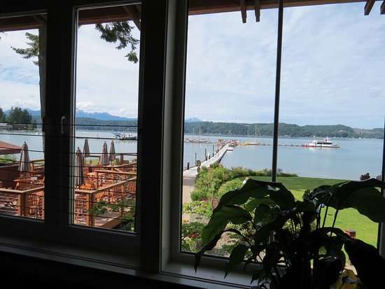 Union, WA: View from Alderbrook Bar