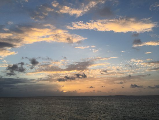West End Village, Anguilla: Sunset!