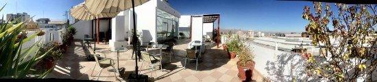 Hostal Uspalay: terraza