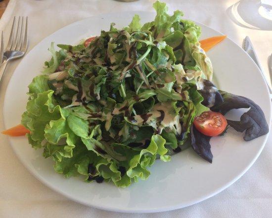 Saint-Blaise, Zwitserland: Salade verte