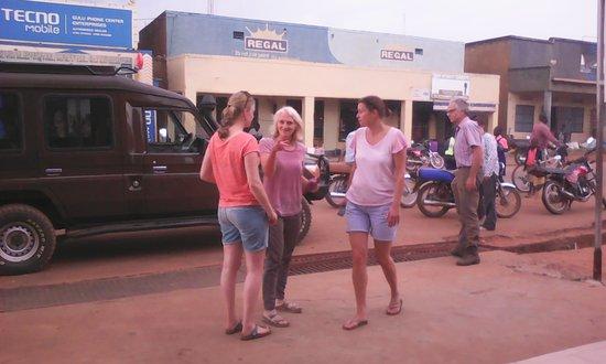 Gulu, Uganda: Guests' arrival