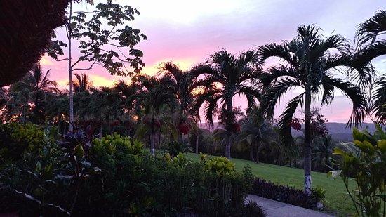 Casa del Caballo Blanco: Sunset from the hammock