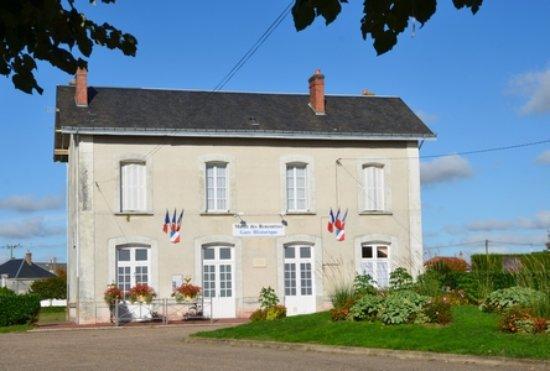 Montoire-sur-le-Loir, França: La Gare Historique vue de l'extérieur
