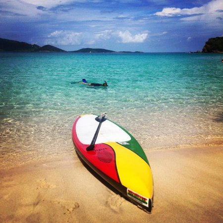 West End, Tortola: Paddle in Paradise