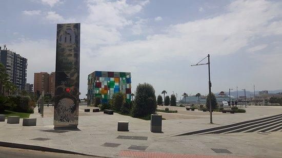 Museo Pompidou.Panoramica Vista Da Fuori Del Museo Pompidou Picture Of Centre