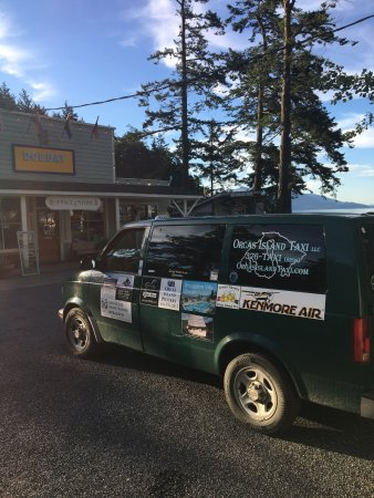 Orcas island taxi rents scooter. On orcas island in eastsound. 3603768294
