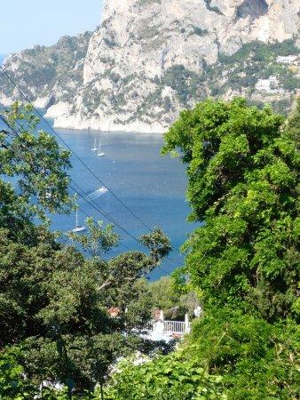 Villa Brunella: blick vom Balkon