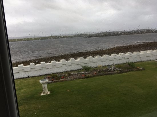 Aultbea, UK: View from the conservatory