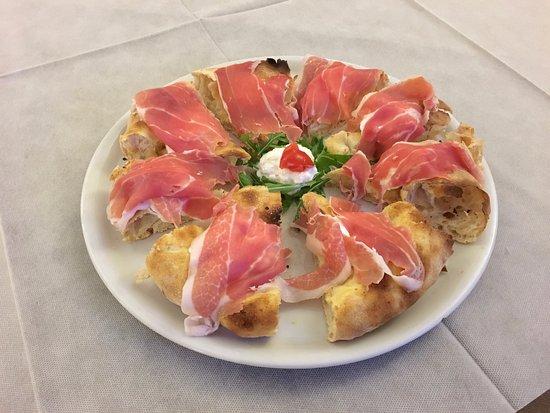 Misano Monte, อิตาลี: burrata