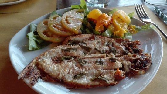 San Lorenzo Nuovo, Italia: Coregone arrosto