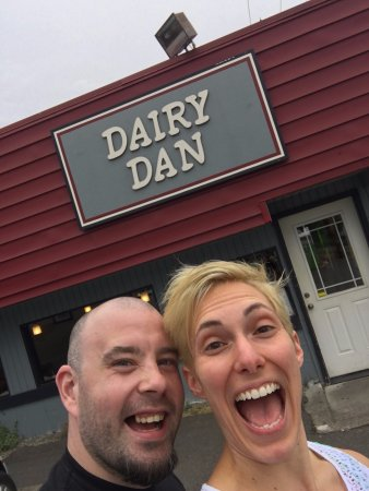 Chehalis, WA: Dairy Dan! We wanted to stop here just because we thought the name was fun