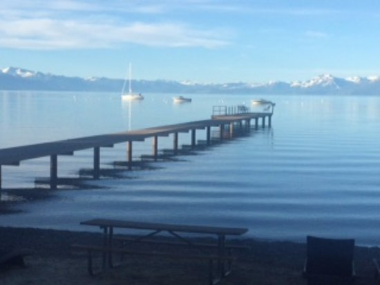 Tahoe Vista, CA: View from inside room 22