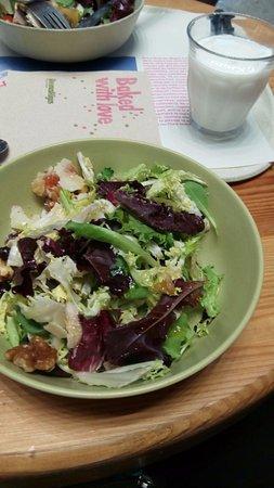 Buenas Migas: Ensalada y yogur