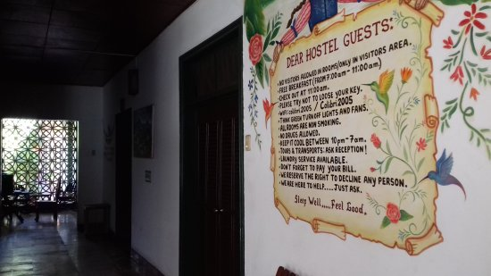 Colibri Hostal : Rules for guest