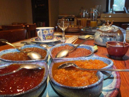 Montverdun, Francia: Les excellents petits déjeuners du Domaine de La Loge régaleront vos papilles