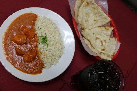 ‪‪Camrose‬, كندا: Butter Chicken Lunch Special Meal‬