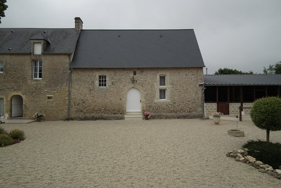 Saint-Vigor-le-Grand, Francia: Cette porte vous mène à la chambre ATELIER.