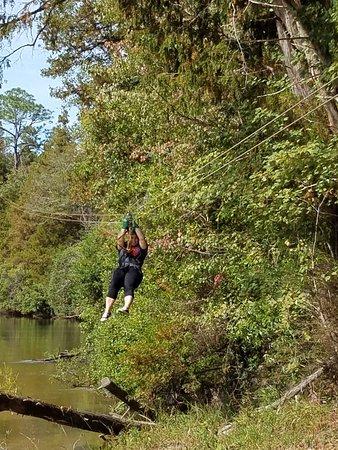 Milton, FL: Zipping along the river