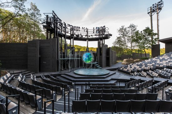 Spring Green, WI: A Midsummer Night's Dream set in the 1089-seat Hill Theatre