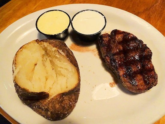 Binion's Roadhouse: strip steak
