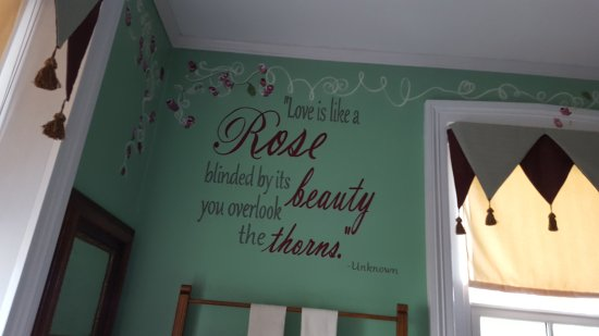 Terre Hill, Pensilvania: Reviews of front porch, amazing breakfast and beautiful room!!